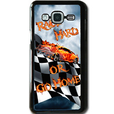 For Samsung Galaxy J3 (2016) Case Phone Cover Race Hard Go Home Y01040