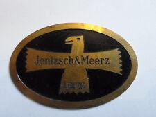 Schild Typenschild IMO JMO Leipzig Jentzsch Meerz Flipper pinball SpielAutomat