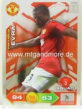 Adrenalyn XL Manchester United 11/12 - #065 Patrice Evra - Special