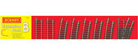 Hornby R8222 Track Pack B Extension for Train Sets
