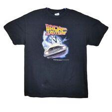 Rare Vtg 1990s Back To The Future T Shirt Size M Delorean