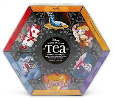 Disney Parks Alice Wonderland VARIETY Sample Pack 6 Flavors 48 Bags Tea 2.96 oz