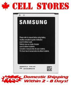 Original OEM Samsung Note 2 II Replacement Battery N7100 EB595675LA/U 3100mAh