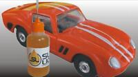 SUPERIOR slot car oil for HO-scale Aurora, PLEASE READ! Parts