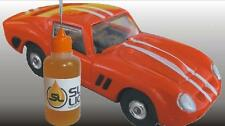 SUPERIOR slot car oil for HO-scale Aurora, PLEASE READ! Parts