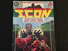 ICON #1 - DC Comics 1st Issue Collector's Item