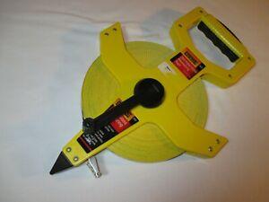 Empire 200' Fiber Glass Measuring Tape Crank roll 6820