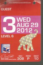 2012 Republican National Convention GUEST BADGE