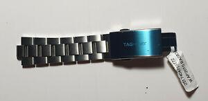 TAG Heuer Aquaracer Steel 20mm Mens Watch Band BA0830 (Half Band)