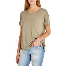 Lee Short Sleeve Plain T-Shirt, Vetiver Green, Small, BNWT RRP £30