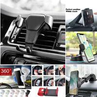 HUD Car Dashboard Mount Holder Stand Bracket Clip For Mobile Phone iPhone GPS