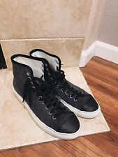 Common Projects Tournament High Top Canvas Sneakers Mens Size 41 Made in Italy