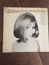 Barbra Streisand   The Second Barbra Striesand Album  CL 2054