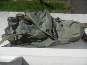 german paratrooper bag gasmask ww2 good condition