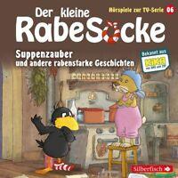 DER KLEINE RABE SOCKE - 06: SUPPENZAUBER (HÖRSPIEL ZUR TV-SERIE) CD NEU