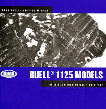 2010 BUELL 1125 & 1125R MOTORCYCLE MODELS SERVICE MANUAL -BUELL 1125 & 1125R