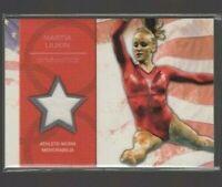 Nastia Liukin Athlete Worn Memorabilia~2012 Topps + BONUS Cards~