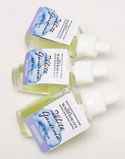 3 REFILLS Bath & Body Works WHITE GARDENIA Wallflower Home Bulbs Plug In