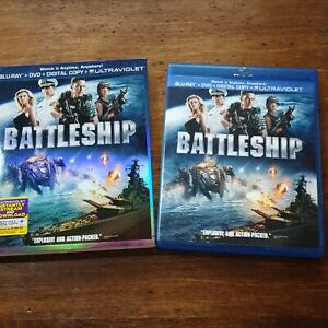 Battleship Blu-ray LIKE NEW! Blu-Ray (REGION A / Region 1 USA)