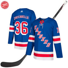 New York Rangers Mats Zuccarello Blue Hockey Jersey #36 Zuccarello