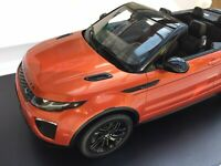 RANGE ROVER EVOQUE JLR DEALER MODELS model road cars Kyosho TSM or GT Autos 1:18