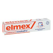 ELMEX mentholfrei Zahnpasta m.Faltschachtel 75ml PZN 04919378
