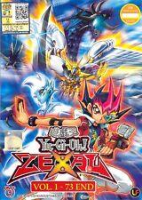 DVD Yu Gi Oh! Zexal Ep. 1-73 End Eng Sub 0 Region