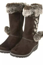 NWT Gymboree Winter Cheer Brown Boots Shoes Size 5 Youth