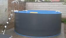 Stahlwandbecken Aufstellbecken Achtform Schwimmbecken Pool 470 x 300 x 120cm