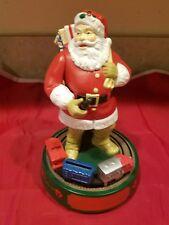 Coca Cola Santa Claus Mechanical Bank 1993 Includes Certificate ertl first