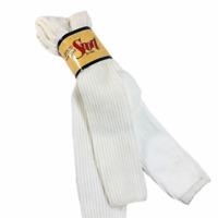 NEW Vintage Arrow Sport  Extra Long Tube Support Socks Men Sz 10-13 White 2 Pack