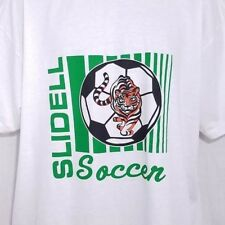 Slidell Tigers Soccer T Shirt Vintage 90s High School Louisiana Class Of 1998 Xl
