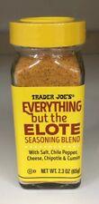 NEW ITEM! Trader Joe's EVERYTHING BUT THE ELOTE Seasoning Blend, net 2.3oz (65g)