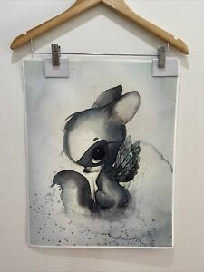 Mrs Mighetto Print On Canvas For Bedroom Or Nursery Wall Art. Replica