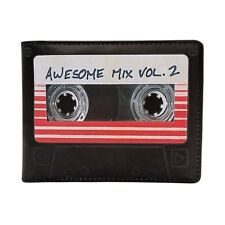 Marvel Guardians of The Galaxy Vol 2 Awesome Mix Tape Wallet Synthetic Leather