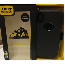 OEM Otterbox Defender Series Case for the Iphone X & XS With Belt Clip - Black