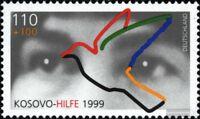 BRD (BR.Deutschland) 2045 (kompl.Ausg.) postfrisch 1999 Kosovohilfe