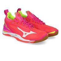 Mizuno Womens Wave Mirage 2 Indoor Court Shoes Pink Sports Handball Netball
