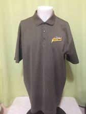 Negro Modelo Men's Brown Polo Shirt Size Xl Corona Nike Dri Fit