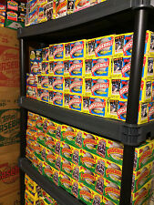 Old Baseball Cards - 36 Unopened Packs in Wax Box 1981-1993.  1 Full BOX LOT