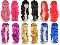 Womens Ladies Hair Wig Lady Fashion Cosplay Party Sexy Full Wigs Long Wavy Curly