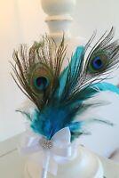 Peacock Feather Wedding Pen