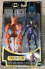 VINTAGE LEGENDS OF THE DARK KNIGHT CATWOMAN MOC BATMAN KENNER 1997