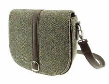 Harris Tweed Authentic Ladies Shoulder Bag Brown LB1000