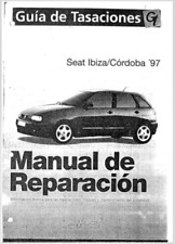 Manual de Reparación Seat Ibiza y Cordoba 97. (En CD) Workshop Reparation.