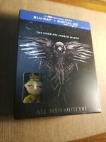 GAME OF THRONES COMPLETE FOURTH SEASON  BLU RAY WITH JOFFREY FUNKO POP