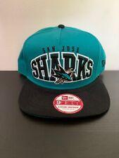 New Era 9fifty San Jose Sharks NHL Hockey Snapback Hat