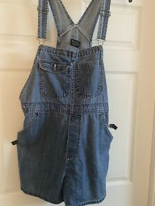 womens overall shorts xl