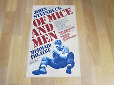 John STEINBECK of MICE and Men inc Lou Hirsch & Mantle MERMAID Theatre Poster