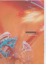 DAWES CYCLE BICYCLE BROCHURE / POSTER - POWER OF PERFORMANCE - MOUNTAIN BIKE
